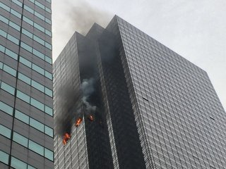Trump Tower fire leaves 1 man dead
