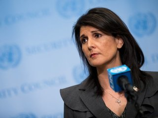Haley: US will respond to Syria attack