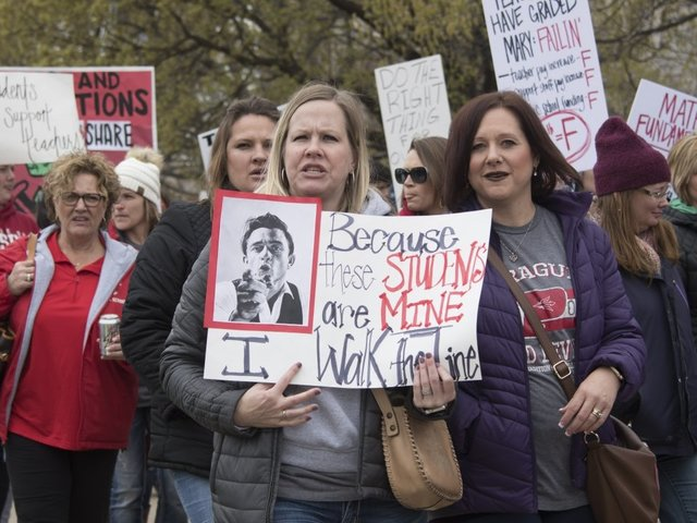 Oklahoma teachers end almost two-week walkout that shut schools