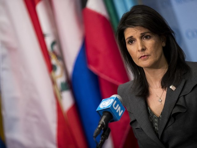 Nikki Haley: Trump 'has not yet made a decision' on Syria action