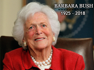 First lady Barbara Bush dies at age 92