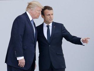Macron to press Trump on Iran, trade