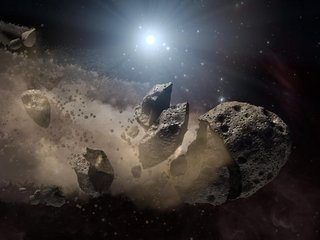 Much of Earth's water may be thanks to asteroids