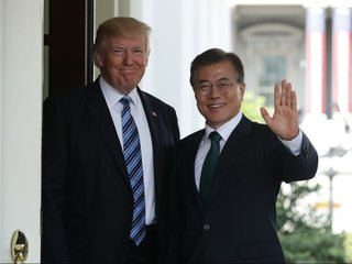 Trump to meet with South Korea's Moon Jae-In