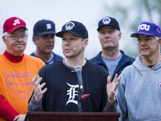 GOP baseball team has first practice