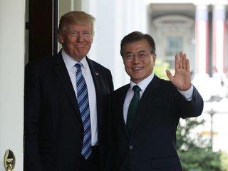 S. Korea president: Trump should win Nobel Prize