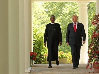 Trump, Nigerian president hold press conference
