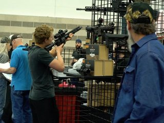 Pro-gun millennials turn out for NRA convention