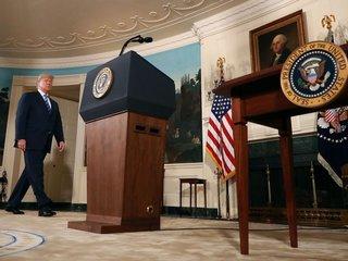Fact check: Trump's Iran deal announcement