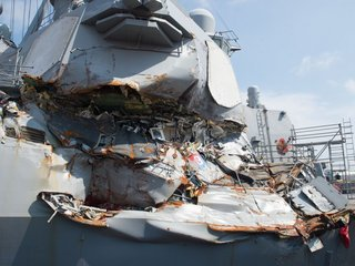 USS Fitzgerald officer pleads guilty in crash