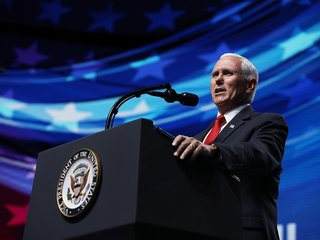 Pence says Mueller should end Russia probe