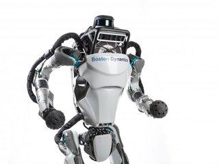 Boston Dynamics' Atlas robot can run outdoors