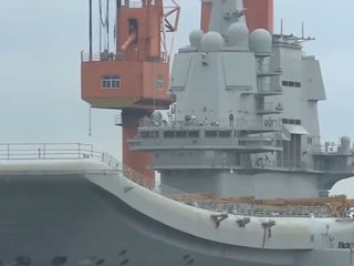 First Chinese-built aircraft carrier goes to sea