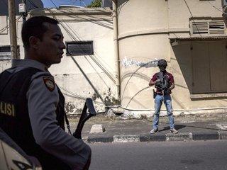 Fourth suicide attack in Surabaya, Indonesia