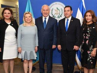 Guatemala moves Israeli embassy to Jerusalem