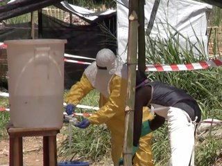 First urban case of Ebola confirmed in Congo