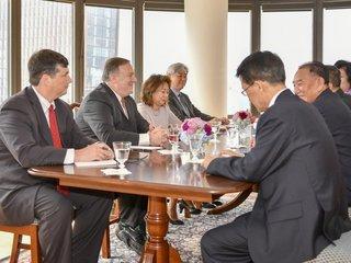 Pompeo: We're making progress on N. Korea summit