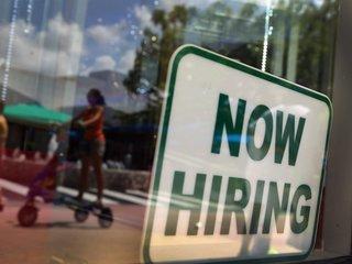Unemployment rate lowest since April 2000