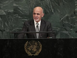 Afghan president calls ceasefire with Taliban
