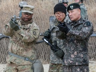 What types of US-South Korea training will stop?