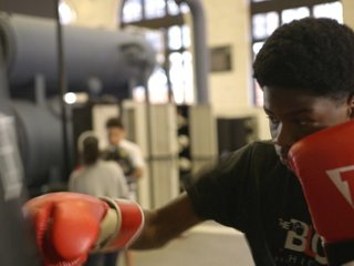 This boxing club also helps students graduate