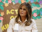 First lady visited child detention center