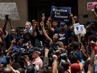 Protesters demand charges in Pa. police shooting