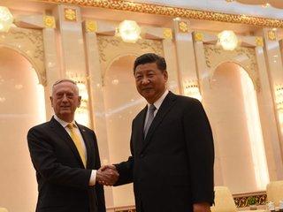 Jim Mattis visits China, meets with Xi