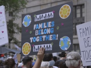 Protesters' ire goes beyond family separations