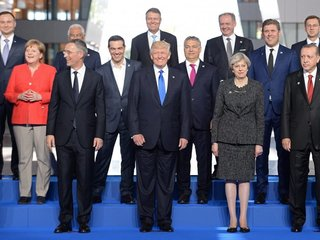 Trump warns NATO members about defense spending