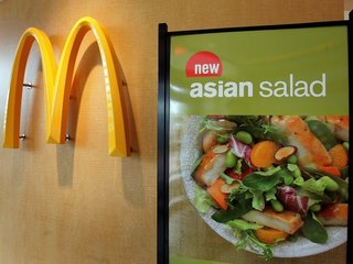 3K McDonald's stores pull salads amid illnesses