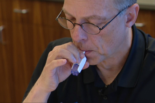 Inhalable insulin alternative to shots