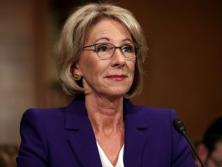 DeVos proposes tighter student loan relief rules