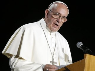 Pope says death penalty is 'inadmissible'
