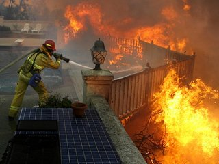 Wildland development increases fire risks