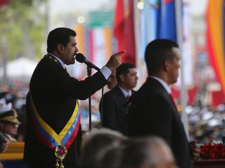 Maduro survives apparent assassination attempt