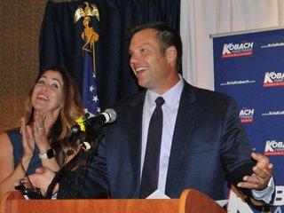 Kobach wins GOP nomination for Kansas governor