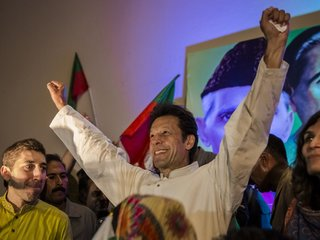 Khan elected as Pakistan prime minister