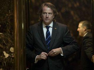 White House counsel McGahn may step down