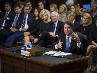 Kavanaugh avoids presidential powers questions