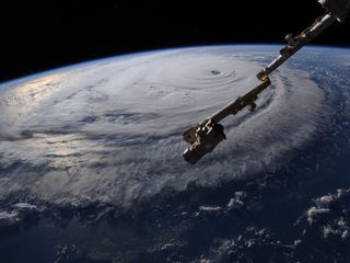 NASA shares photos of Florence from space