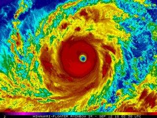 Super typhoon headed towards Philippines, China