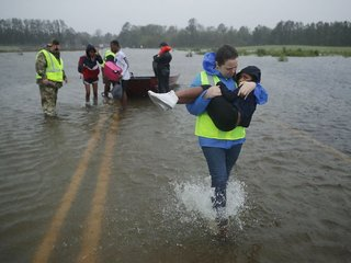 'Catastrophic' flooding expected from Florence