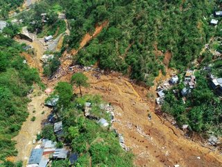 Super typhoon causes landslide in Philippines