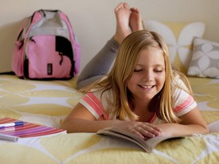 Girls read & write better than boys, study says