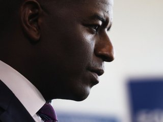 Did Gillum deny help restoring his city's power?