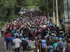 Pompeo accuses migrant caravan of violence