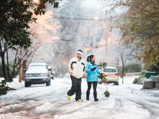 Photos: Snowstorm wallops the southeast